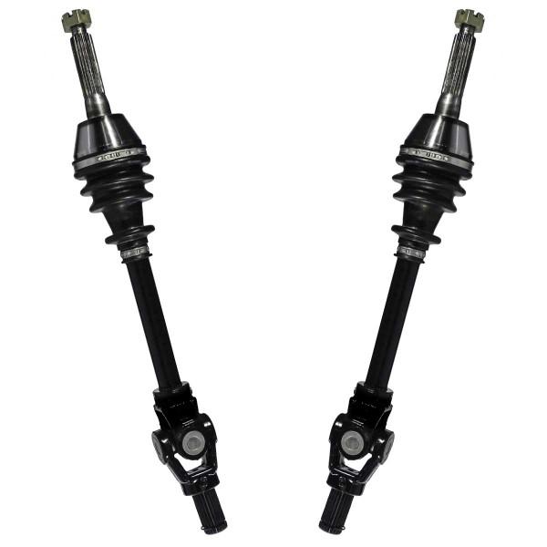 Front ATV Axle Shaft Pair - Part # ADSKPOL8007PR