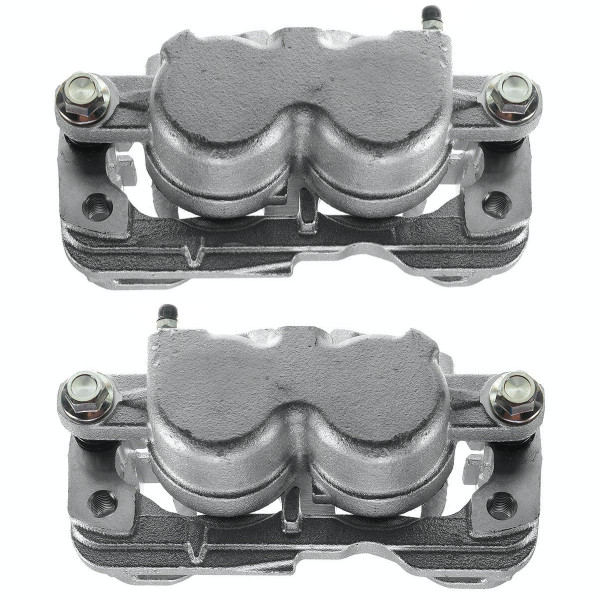 Front Rear Brake Caliper Pair 2 Pieces Fits Driver and Passenger side 4 Wheel Disc - Part # BC2688PR