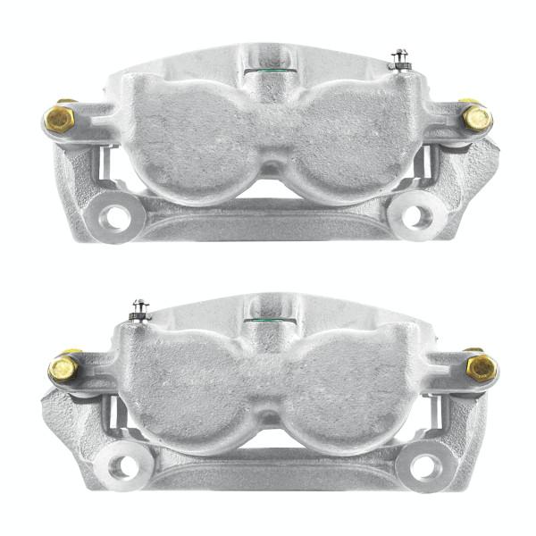 Front Disc Brake Caliper Pair Phenolic Piston Without Bracket - Part # BC2714PR