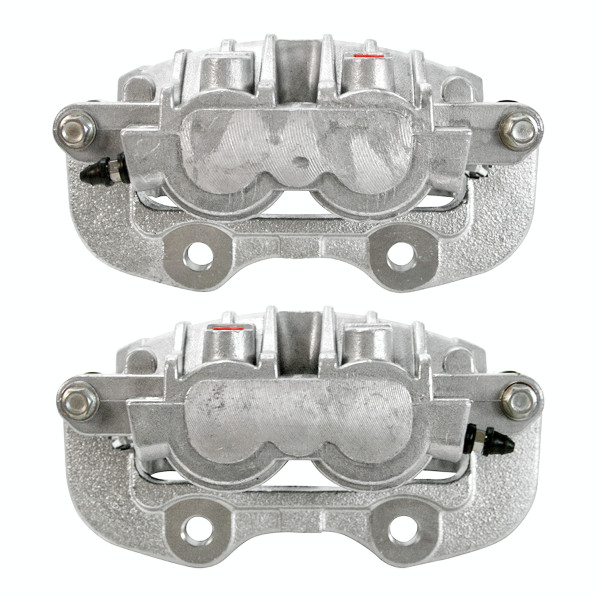 Rear Brake Caliper Pair 2 Pieces Fits Driver and Passenger side 4 Wheel Disc - Part # BC2742PR