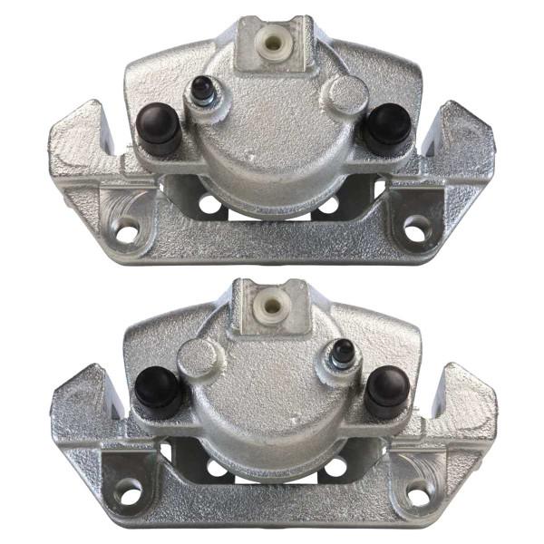 Front Disc Brake Caliper Pair Phenolic Piston - Part # BC2764PR