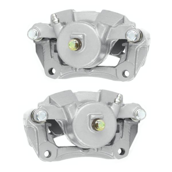 Front Disc Brake Caliper Pair Single Piston - Part # BC2902PR