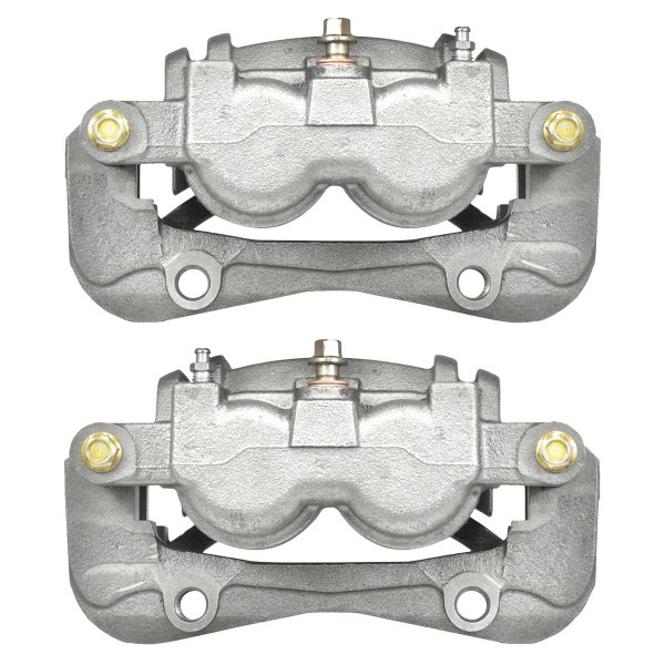 Front Disc Brake Caliper Pair Dual Phenolic Piston - Part # BC2958PR