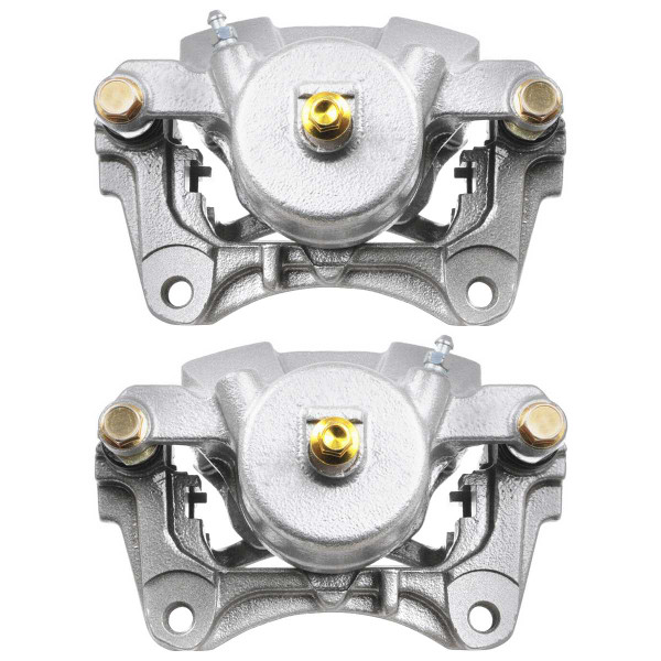 Front Disc Brake Caliper Pair Single Piston - Part # BC2972PR