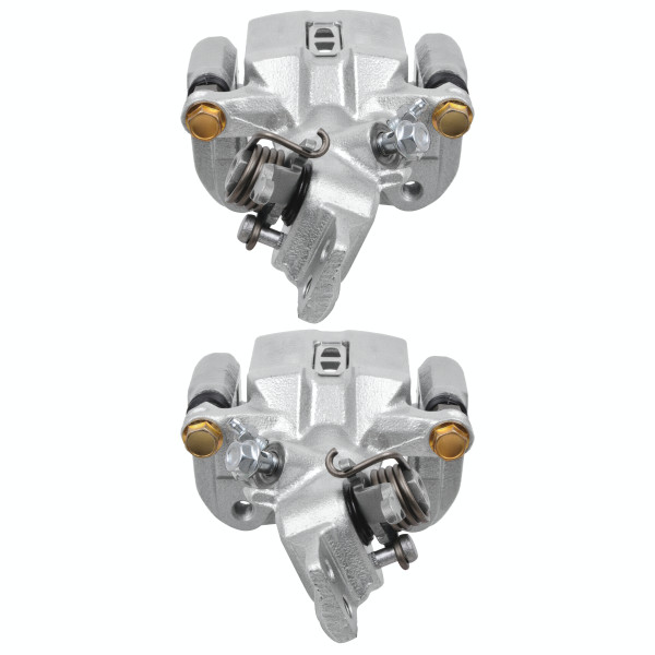 Rear Brake Caliper Pair 2 Pieces Fits Driver and Passenger side 4 Wheel Disc - Part # BC29744PR