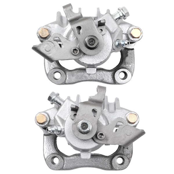 Rear Disc Brake Caliper Pair Metal Piston With Bracket - Part # BC29954PR