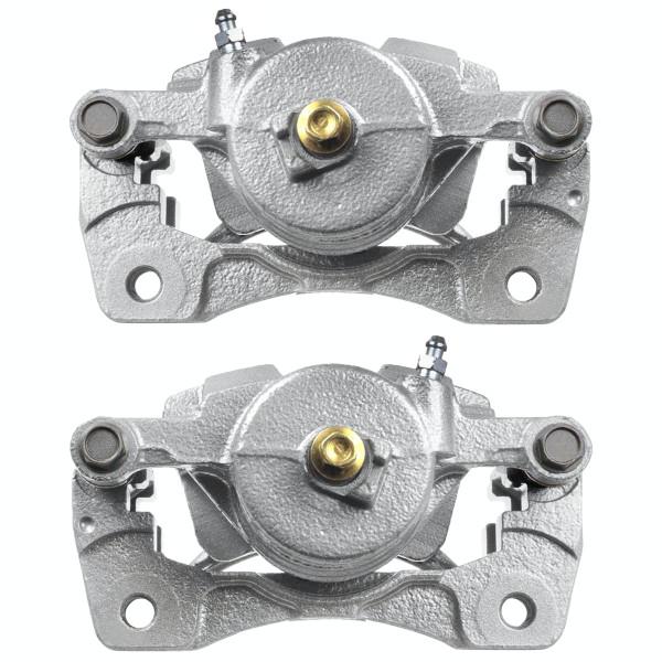 Front Disc Brake Caliper Pair Metal Piston - Part # BC30058PR