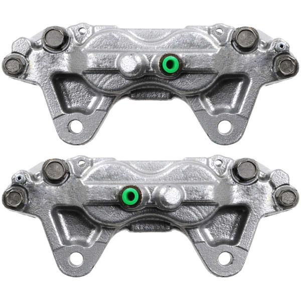 Front Disc Brake Caliper Pair Metal Piston - Part # BC30144PR