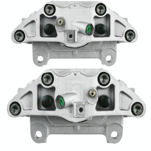 Front Disc Brake Caliper Pair Metal Piston - Part # BC30348PR