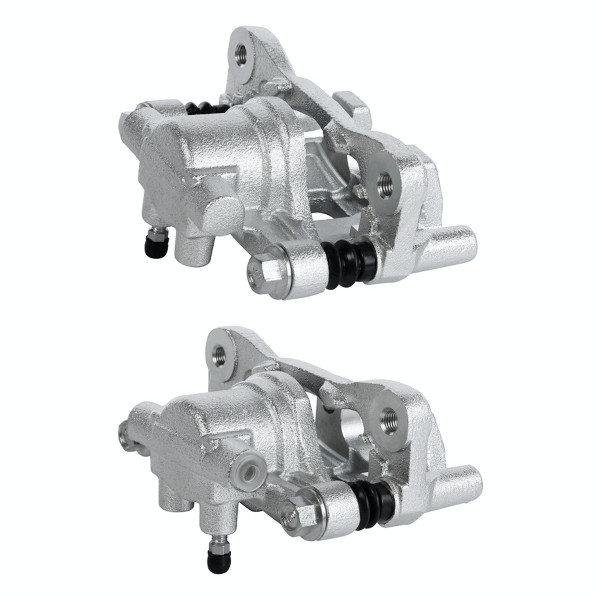 Rear Brake Caliper Pair 2 Pieces Fits Driver and Passenger side 4 Wheel Disc - Part # BC3066PR