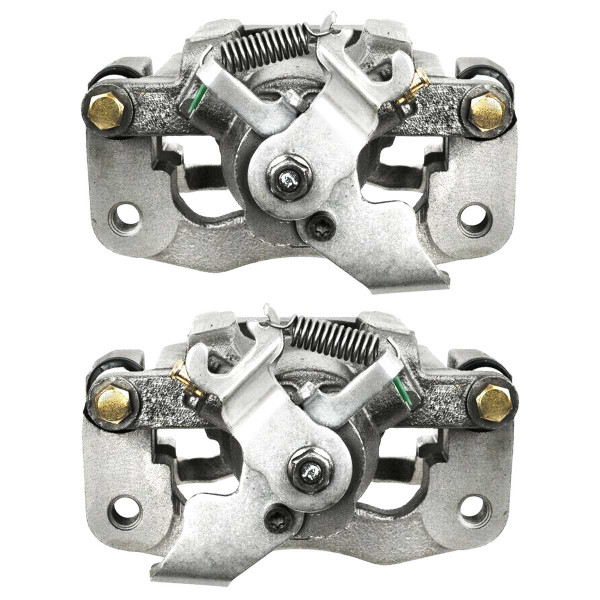 Rear Disc Brake Caliper Pair Single Metal Piston - Part # BC3076PR
