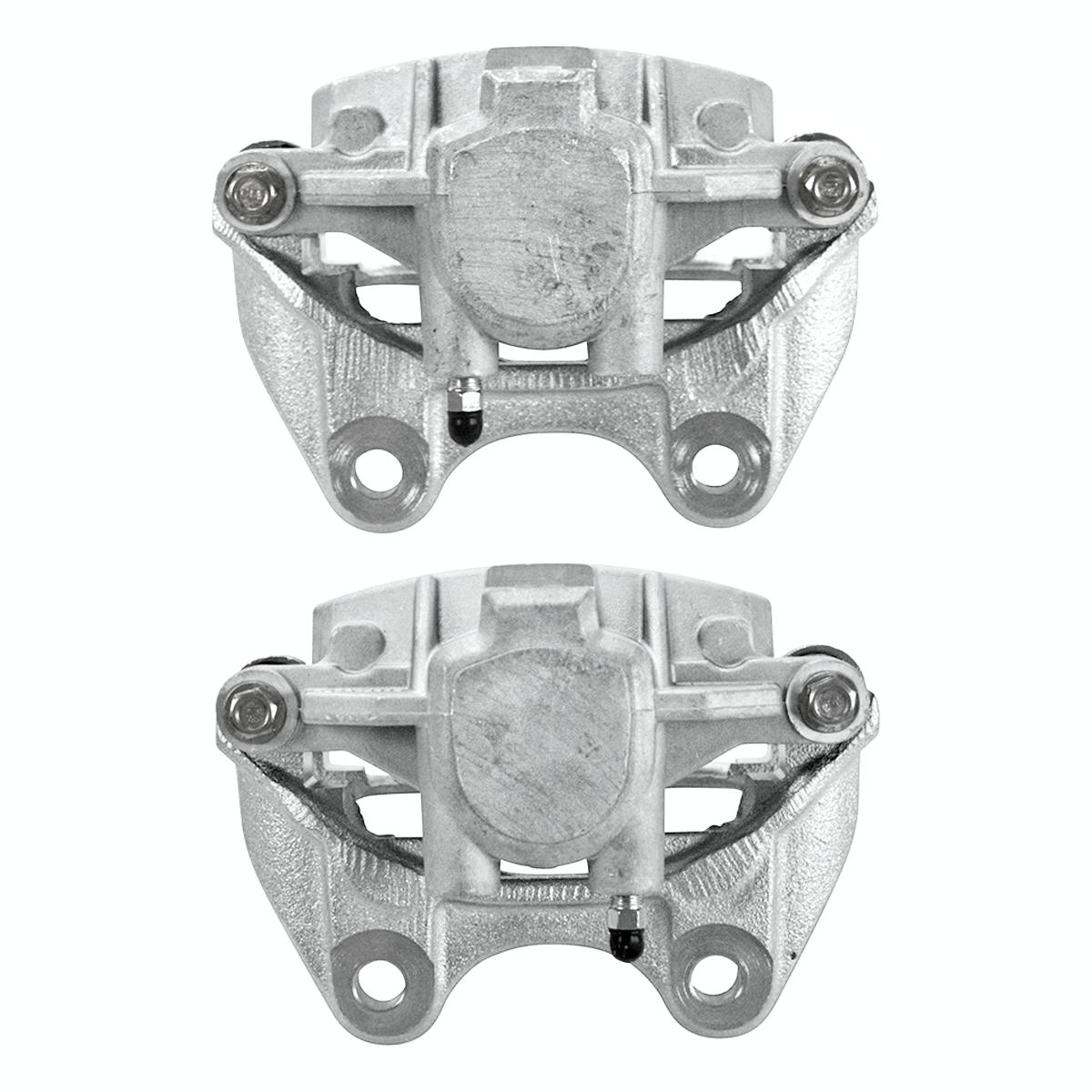 AutoShack BC29748PR Rear Brake Caliper Pair 2 Pieces Fits Driver and Passenger Side