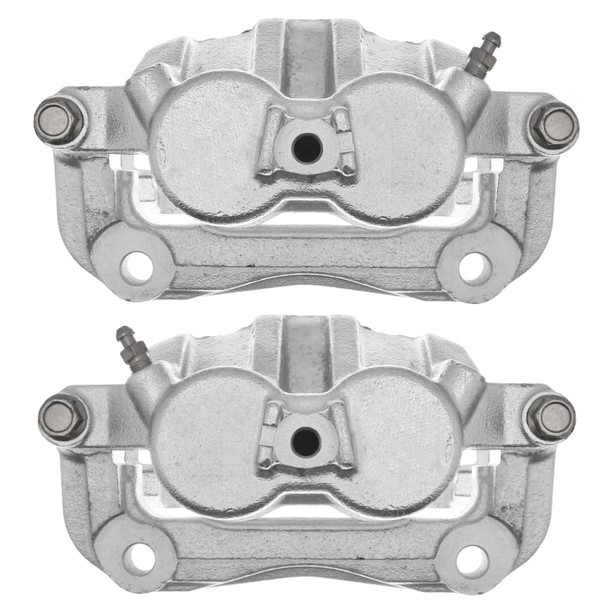 Front Disc Brake Caliper Pair Metal Piston - Part # BC3820PR