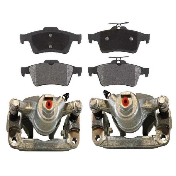 [Rear] Set of Brake Calipers and Ceramic Brake Pads - Part # BCPKG0006