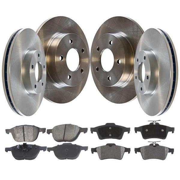 Set of Brake Rotors and Performance Pads - Part # BRAKEPKG1170