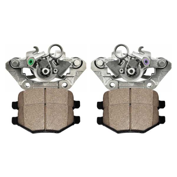 Rear Calipers Ceramic Pads - Part # BRKPKG100279
