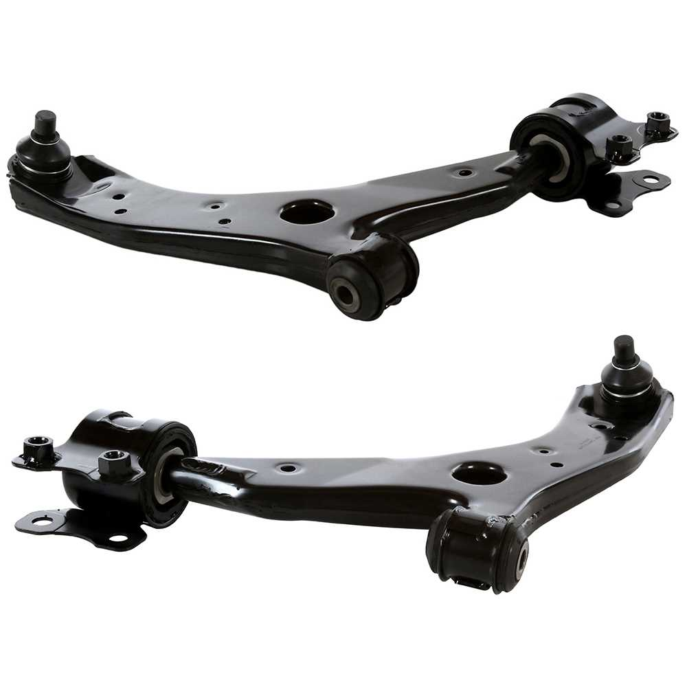 AutoShack CAK1000 Front Driver Side Upper Control Arm and Ball Joint Assembly