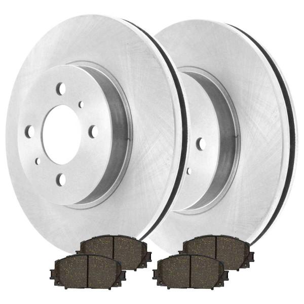 Front Ceramic Brake Pad and Rotor Bundle - Part # CBO414411184C32