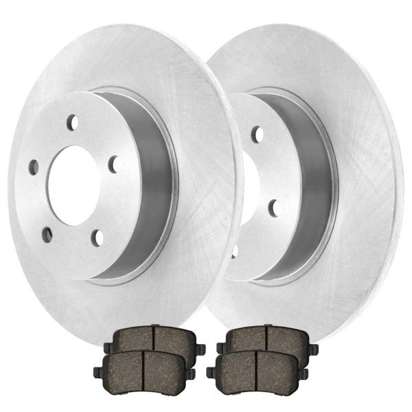 Rear Ceramic Brake Pad and Rotor Bundle 12 Inch Rotor Diameter - Part # CBO630521326CGR