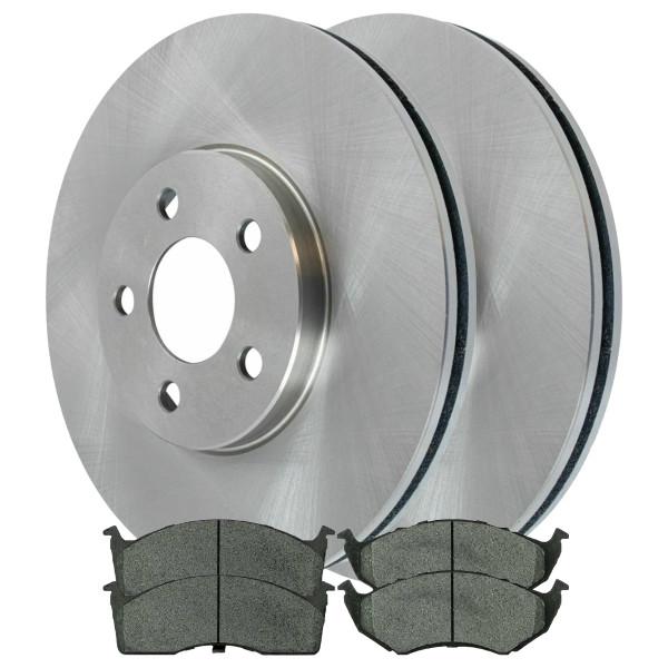 Front Ceramic Brake Pad and Rotor Bundle - Part # CBO6399642C32