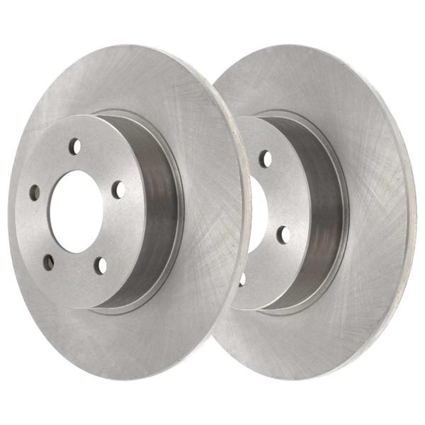 Rear Ceramic Brake Pad and Rotor Bundle 4 Wheel Disc - Part # CBO65041698CAL