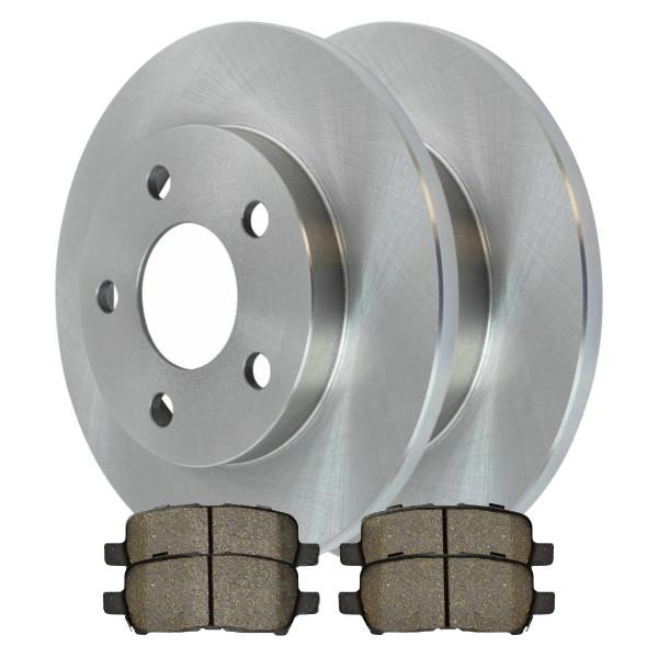 Rear Ceramic Brake Pad and Rotor Bundle - Part # CBO65087999CLA