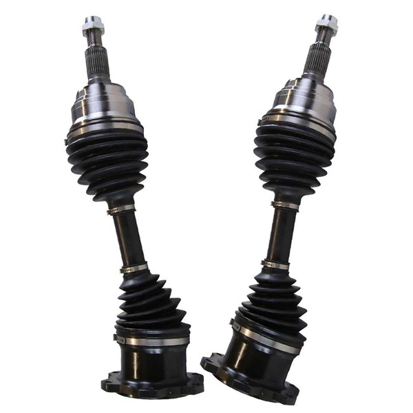 Left & Right Pair (2) of Complete Front Cv Axle Shafts - Part # DSK109PR
