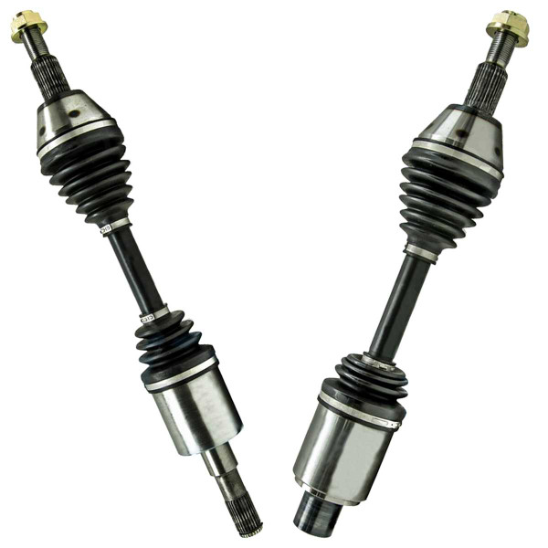 Left & Right Pair (2) of Complete Front Cv Axle Shafts - Part # DSK2064PR