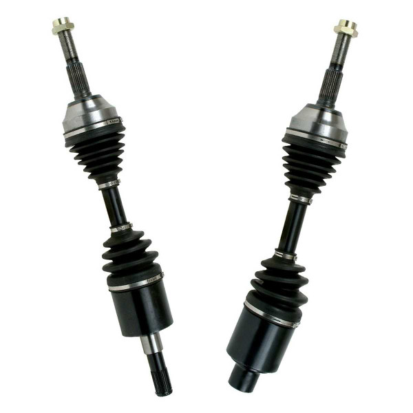 Left & Right Pair (2) of Complete Front Cv Axle Shafts - Part # DSK538537
