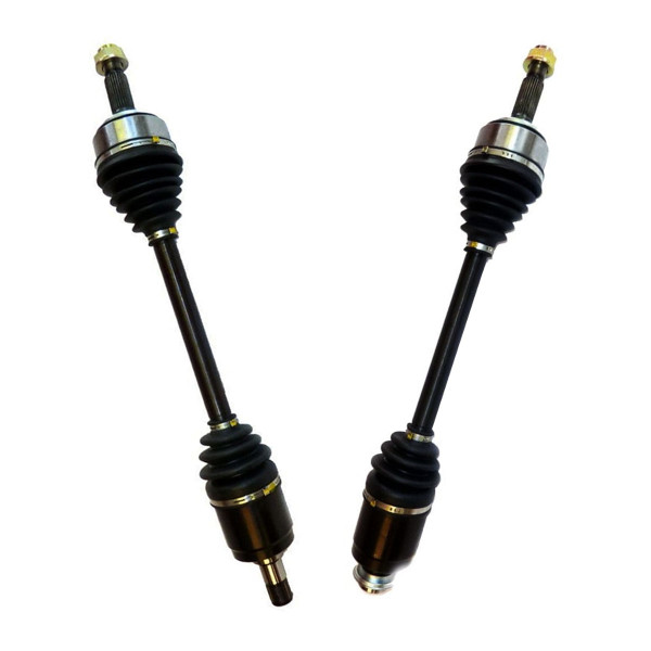Left & Right Pair (2) of Complete Front Cv Axle Shafts - Part # DSK656657