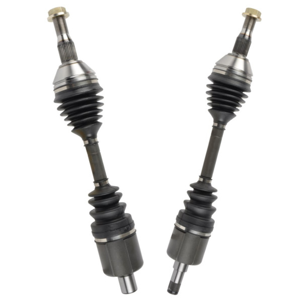 Left & Right Pair (2) of Complete Front CV Axle Shafts - Part # DSK937107