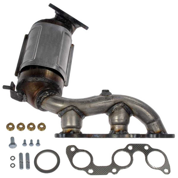 Rear Exhaust Manifold with Catalytic Converter 3.3L - Part # EMCC774882