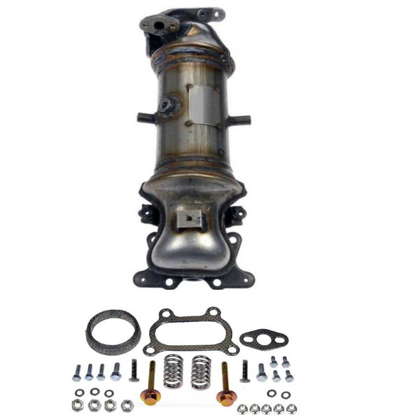Exhaust Manifold with Catalytic Converter - Part # EMCC774988