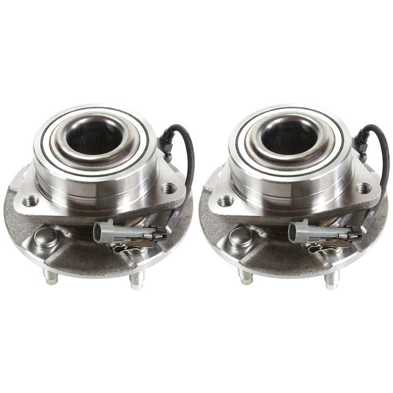 AutoShack HB613191PR Pair of 2 Front Wheel Hub Bearing Assembly Fits Driver and Passenger Side