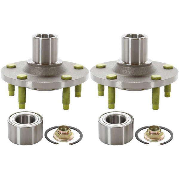 Front Wheel Hub Bearing Assembly Pair 2 Pieces Fits Driver and Passenger side - Part # HB618517PR