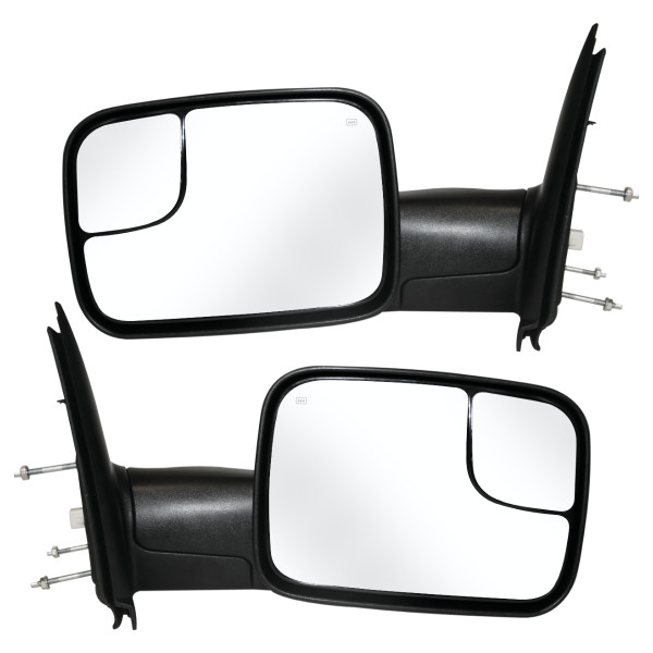 Side Mirrors Power Heated Towing - Part # KAPCH1320228PR