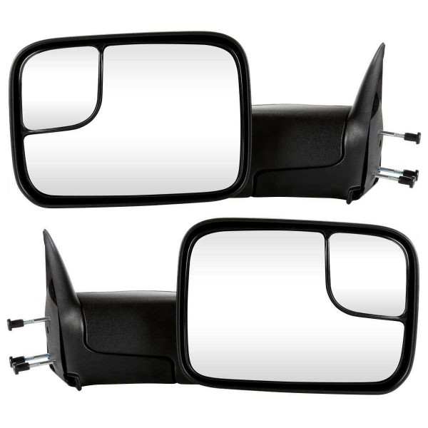 Manual Towing Side View Mirror Pair - Part # KAPCH1320258PR