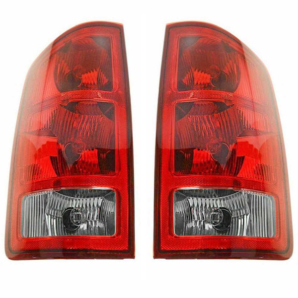 Pair 2 Left Right Tail Light for 02-06 Dodge Ram 1500 New Body Style w/o Sockets - Part # KAPDG50054A1PR