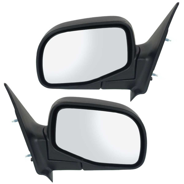 Manual Side View Mirror Pair - Part # KAPFO1320165PR
