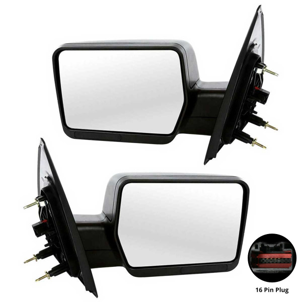 Power Side View Mirror Pair - Part # KAPFO1320233PR