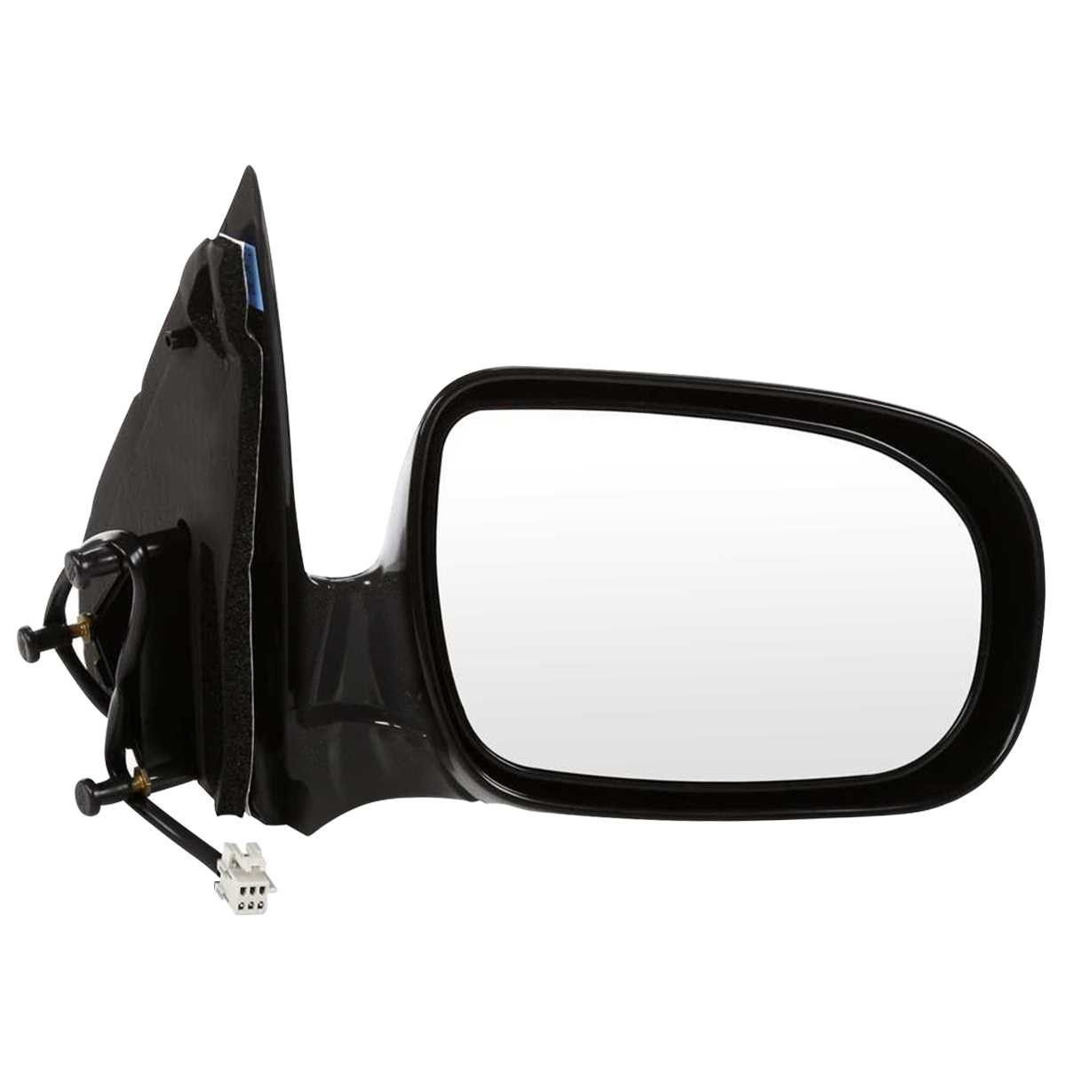 Auto Shack KAPCH1321271S Manual Folding Smooth Side View Mirror Passengers Side