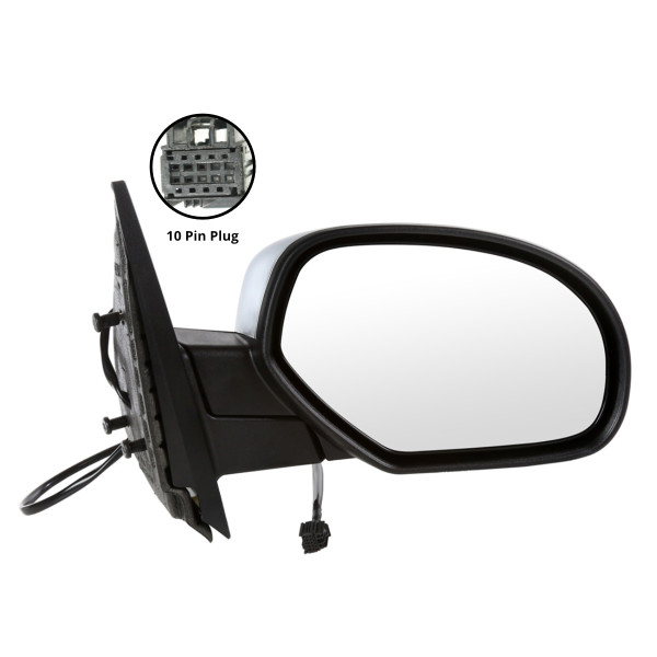Side Mirror Passenger Right Power Heated Chrome - Part # KAPGM1321340