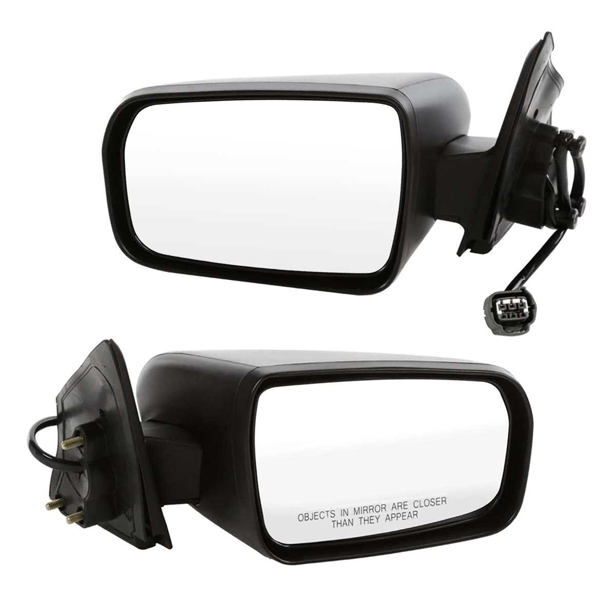 Auto Shack KAPNI1321153 Power Side Mirror