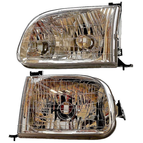 [Set] Headlight Headlamp Assembly Units Front Set - Part # KAPTY10093A1PR