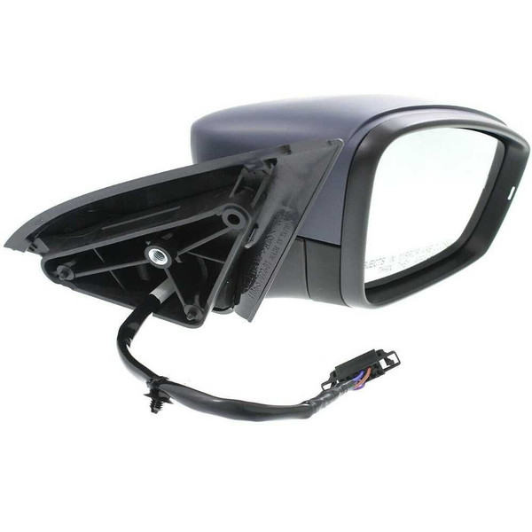Primed Grey Power Heated Signal Passenger Right Side Mirror for 11-15 VW Jetta - Part # KAPVW1321146