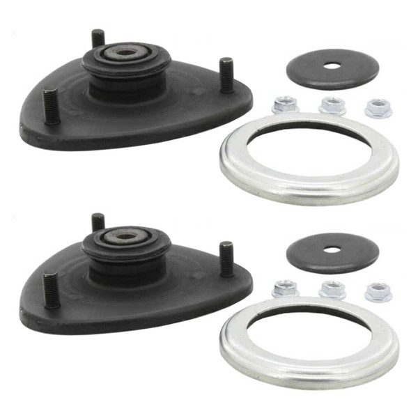 Front Strut Mount Pair 2 Pieces Fits Driver and Passenger side - Part # KM1004977PR