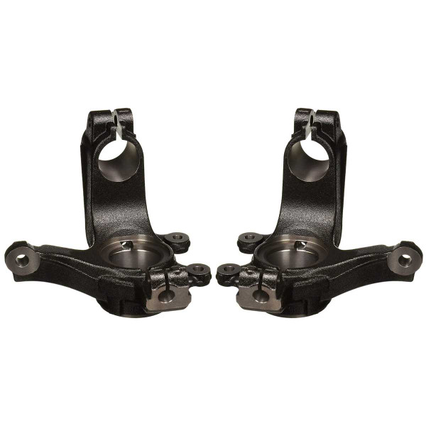 Pair 2 Front Steering Knuckle Spindle Set for 2006-2011 Ford Focus - Part # KN798114PR