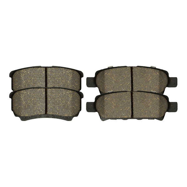 Rear Performance Ceramic Brake Pad Set 4 Wheel Disc - Part # PCD1037
