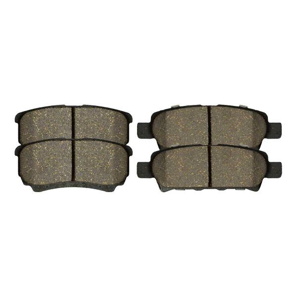 Rear Performance Ceramic Brake Pad Set 4 Wheel Disc - Part # PCD1037