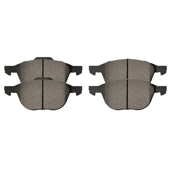 Front Performance Ceramic Brake Pad Set - Part # PCD1044